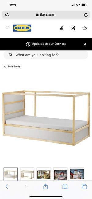 IKEA kura bed frame for Sale in Greensboro, NC