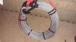 75' steel winch cable. for Sale in Woodland, CA