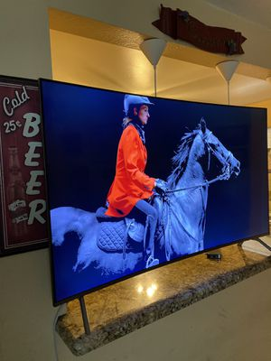 SAMSUNG NEW TV IN ITS BOX 55 INCH SMART TV SAMSUNG CURVED MULTISYSTEMA LED 4k MODEL # UN55MU8500 FXZA for Sale in Phoenix, AZ