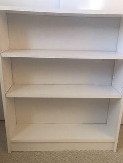 White bookshelf for Sale in Fairfax,  VA