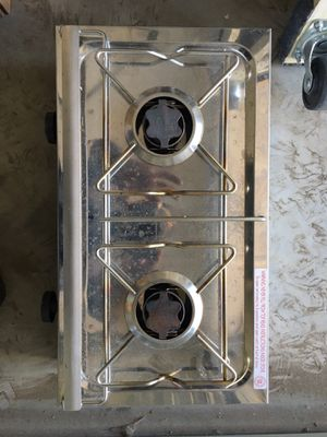 Domitec camp stove gently used for Sale in Franktown, CO