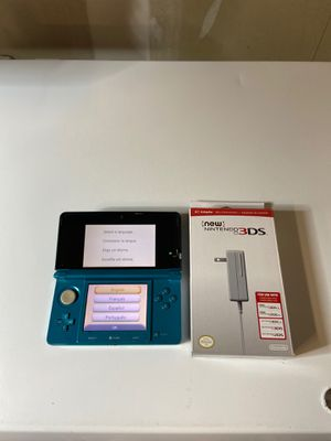 Nintendo 3DS Aqua Blue system for Sale in Elk Grove, CA