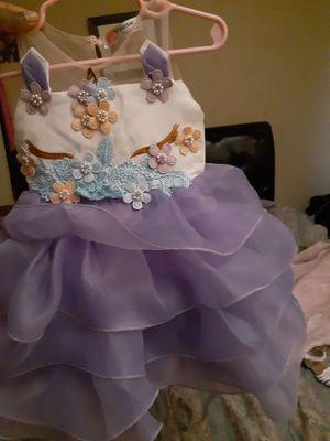 Unicorn dress for Sale in Orlando, FL