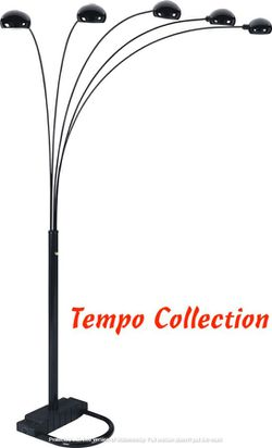 NEW, 5-Headed Arc Floor Lamp 84in H, SKU# A6962 for Sale in Westminster,  CA