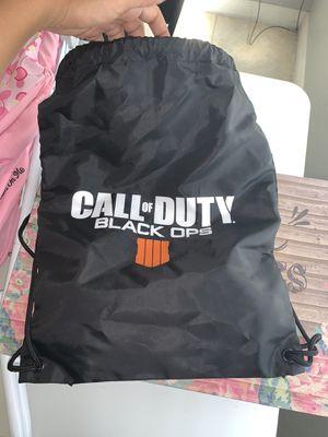Black Ops String Bag for Sale in Auburndale, FL