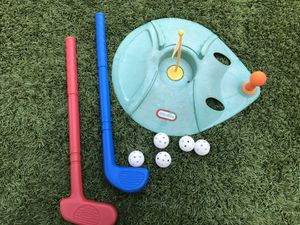 Little tikes kids outdoor golf toy for Sale in San Diego, CA