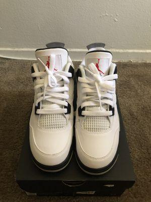 Jordan Retro 4 White Cement for Sale in Downey, CA
