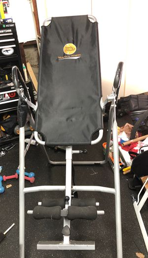 Body Power Health & Fitness Inversion Back Stretcher for Sale in Downey, CA