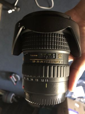 Tokina 11-16mm f/2.8 Lens Canon EF II Wide angle II Camera II Camera Gear II for Sale in Santa Ana, CA