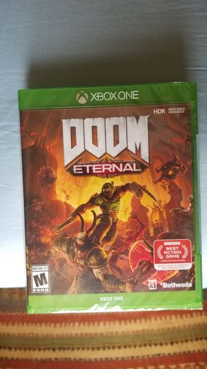 DOOM ETERNAL XBOX ONE Brand New (Sealed) for Sale in Humble, TX