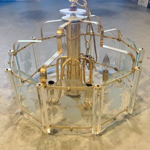 "Brass Chandelier 19"" 6 Light for Sale in Hacienda Heights, CA"