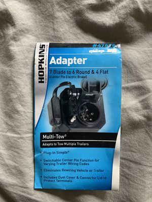 Towing adapter 7-pin and 4-pin for Sale in Portland, OR