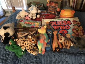 Fun game and beanie assortment for Sale in Fullerton, CA
