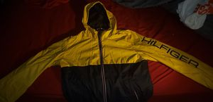 Yellow/Navy Blue Tommy Hilfiger Windbreaker for Sale in Washington, DC