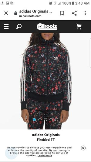 Adidas originals floral tracksuit for Sale in Lynwood, CA