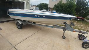 Garage kept Bayliner 150 capri w/ trailer and cover for Sale in Little Egg Harbor Township, NJ