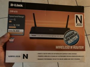 D Link High Speed WiFi Router for Sale in Tampa, FL
