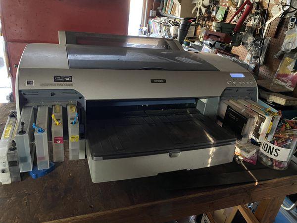 EPSON stylus pro 4880 - Roll film printer