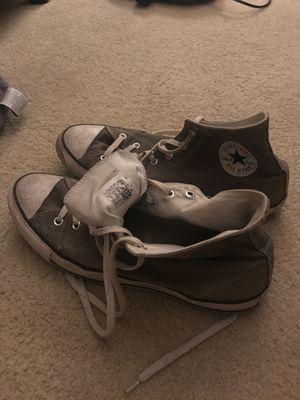 Men's converse size 13 grey for Sale in Longwood, FL