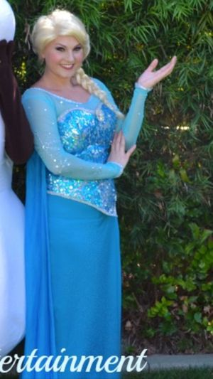 Frozen-Elsa birthday party/costume character for Sale in Washington, DC