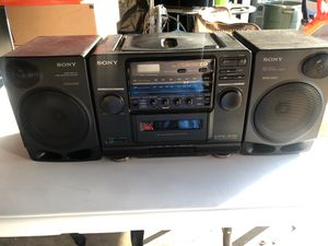 Sony CFD-510 Stereo System for Sale in Pasadena, CA