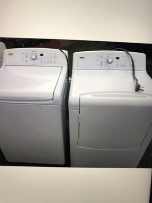 Washer and dryer kenmore large capacity for Sale in West Palm Beach, FL