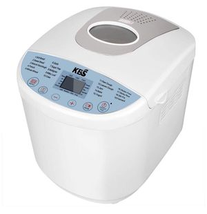 Bread Maker - Bread Machine Automatic Bread Maker with 3 Loaf Sizes(1/1.5/2LB), 15-Hour Delay Timer, 19 Programs, 3 Crust Colors, Programmable Bread for Sale in St. Louis, MO