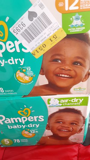 Pampers Baby Dry size 5 78 count for Sale in San Jose, CA