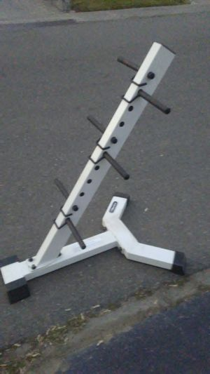 Nautilus thick gauge weight tree/rack for Sale in Stockton, CA