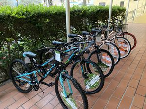 """26"""" Mountain bikes 26"""" Beach cruisers available now NEW $199 each Bike firm priced 🌊🌊🌊🌊☀️ for Sale in Hollywood, FL"""