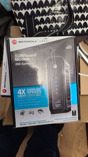 5 left surfboard modem 200 series local pick up only cash only thank you. for Sale in Yonkers, NY