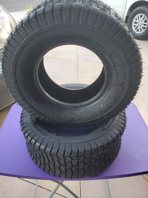 Turf Tires 4 ply Tubeless Replacement for Lawn Tractor for Sale in Ontario, CA