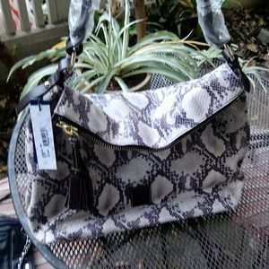 Dooney & Burke snakeskin tote hobo bag for Sale in Foster City, CA