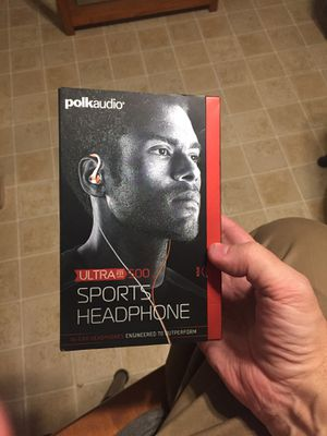 Polk Audio Ultra Fit 500 Sports Headphone for Sale in Arnold, MO
