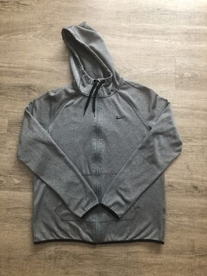 Women's Nike zip up hoodie jacket. Charcoal gray. Size medium. for Sale in Puyallup, WA