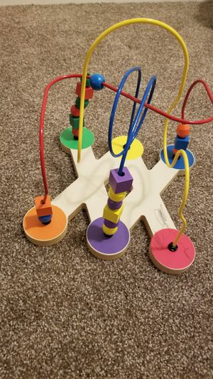 Wooden bead maze for Sale in Fort Carson, CO