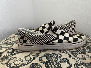 vans multi check for Sale in Upland, CA