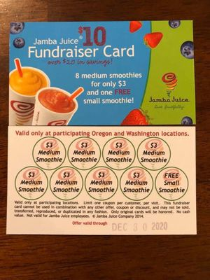 Jamba cards for Sale in Tualatin, OR