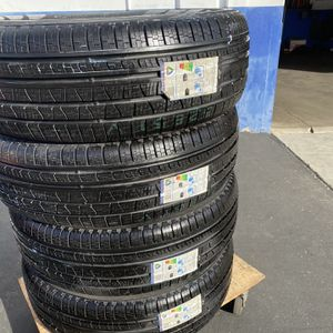 Tires Brand New 265/70/17 Pirrelli $420 Set Of Four Install for Sale in Anaheim, CA