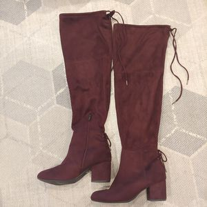 Circus by Sam Edelman Virginia Over the Knee Boots suede for Sale in Columbus, OH