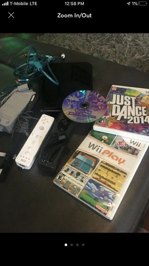 Nintendo Wii Black Console - RVL-101 for Sale in St. Louis, MO