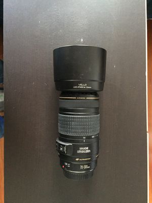 Canon EF Telephoto Zoom 70- 300mm f/4-5.6 III USM for Sale in New York, NY