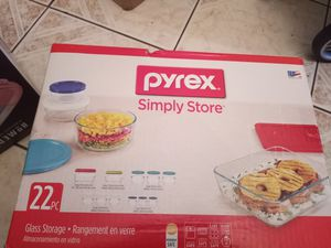 Set 22 pc pyrex for Sale in Houston, TX
