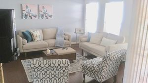 2 Beige Sofas...Brand New. for Sale in Centreville, VA