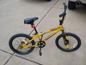 Small bike with matching kid's TM Ninja Turtle helmet for Sale in Grand Prairie, TX