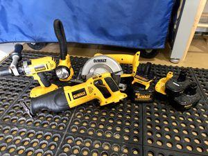 Dewalt 18v Tool Set! Light Usage! for Sale in Northville, MI