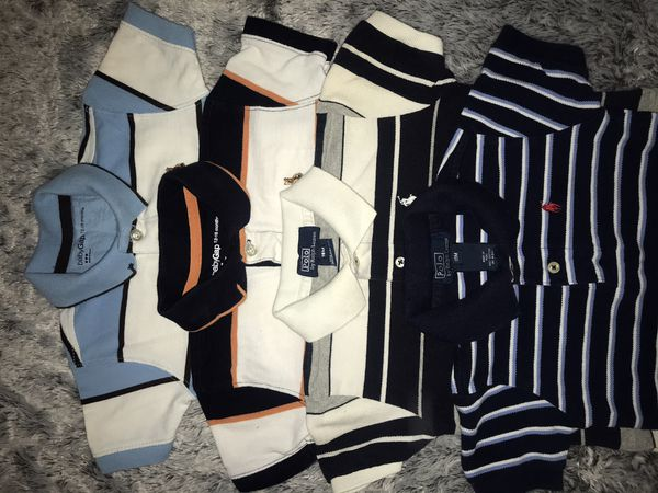 Baby Boy Polo By Ralph Lauren & Gap Shirts Size 18M $40 For All 5 Or $10 Each