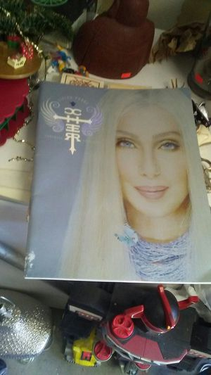 Cher. Living. Proof tour book for Sale in Las Vegas, NV
