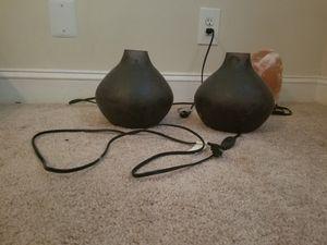 Decorative set of bedside lamps for Sale in Alexandria, VA