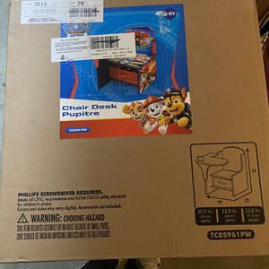 Paw Patrol chair desk for Sale in Compton, CA